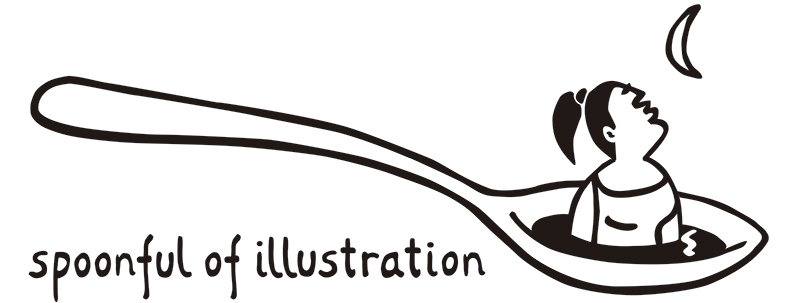 Spoonful ol illustration logo